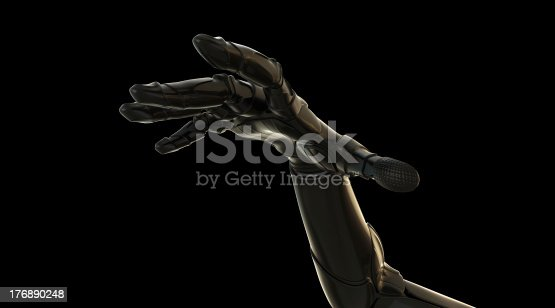 istock Outstretched hand 176890248