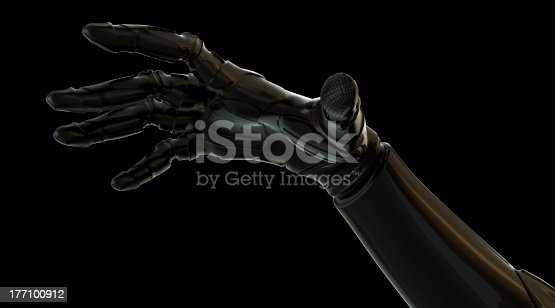 istock Outstretched hand 177100912