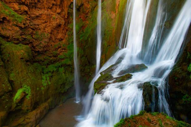 Ouzoud Falls, Morocco stock photo