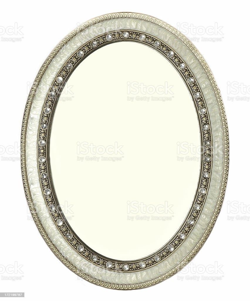 Oval Frame royalty-free stock photo