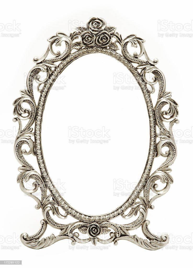 Oval Frame stock photo