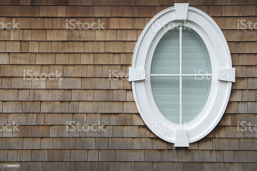 Oval Window royalty-free stock photo