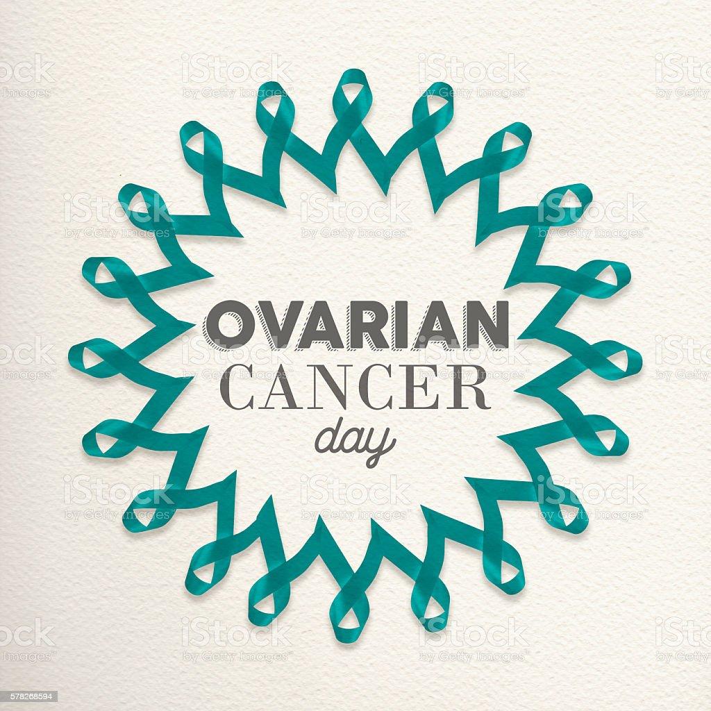 Ovarian cancer day awareness design made of ribbon stock photo ovarian cancer day awareness design made of ribbon royalty free stock photo biocorpaavc