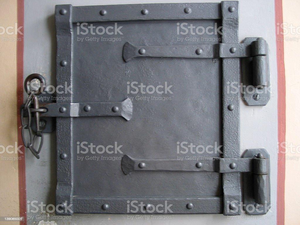 Oven door stock photo