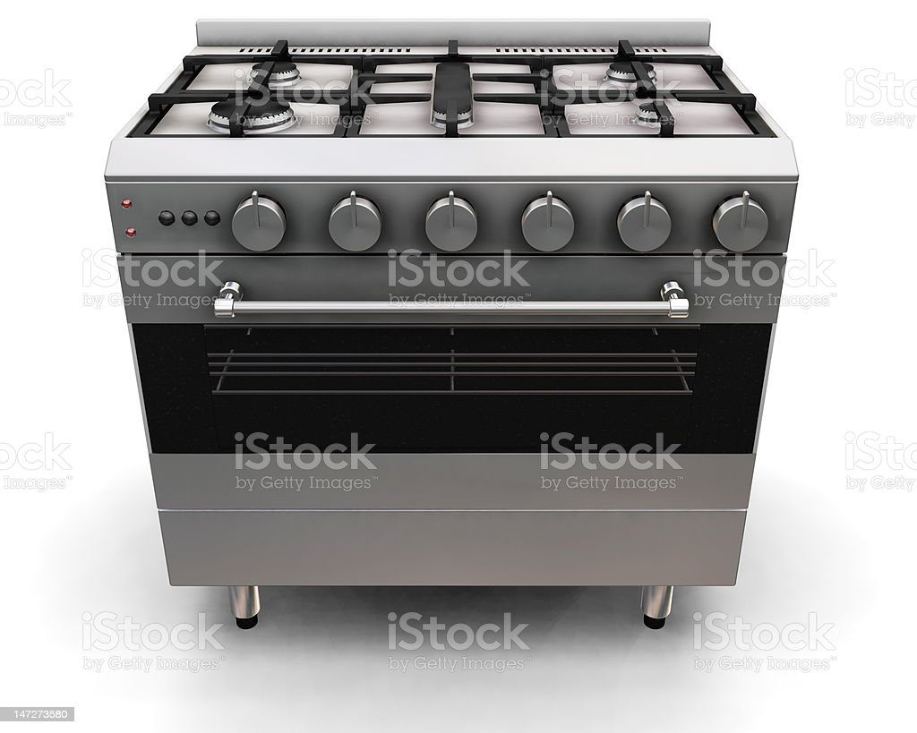 Oven royalty-free stock photo