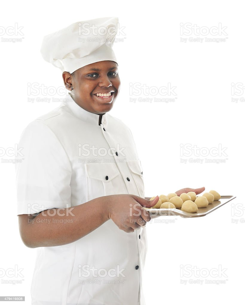 Oven Ready Cookies stock photo