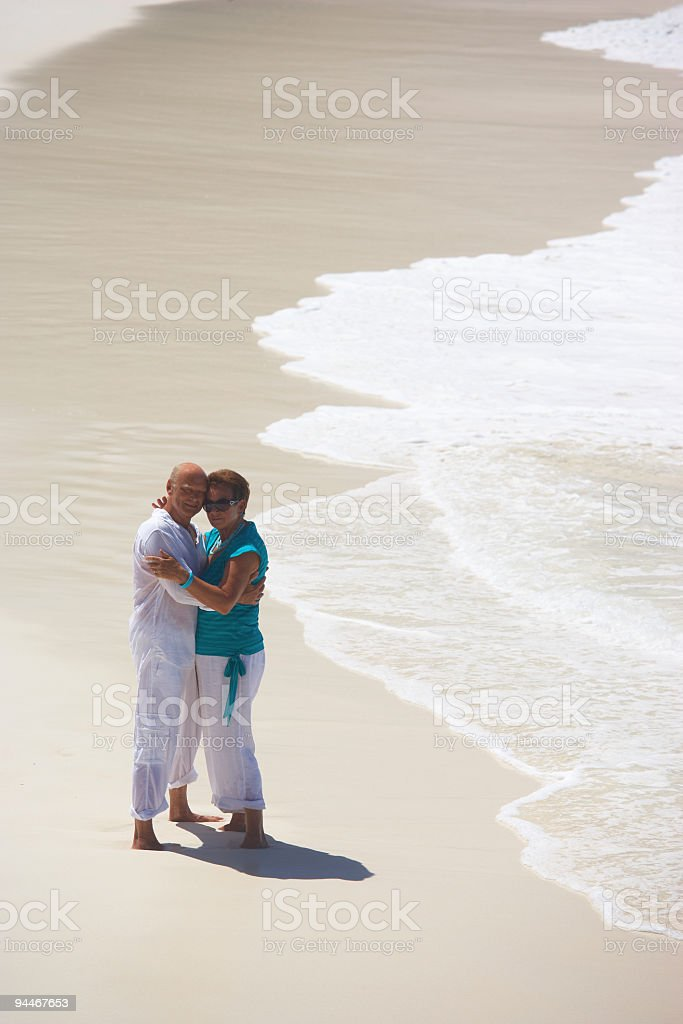 over 60, who cares? royalty-free stock photo