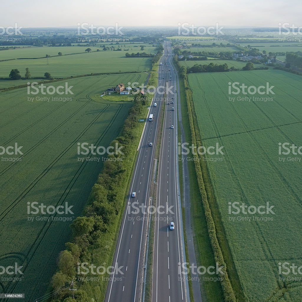 over big road royalty-free stock photo