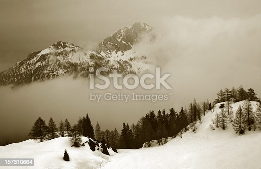 istock Over clouds 157310664