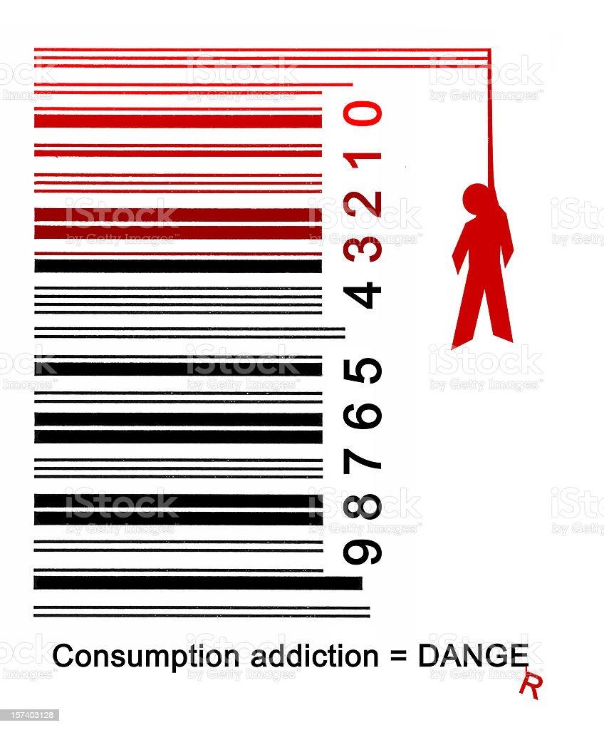 Over consumption danger #2 stock photo