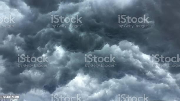 Photo of Over head Shot of rain cloud ; weather change