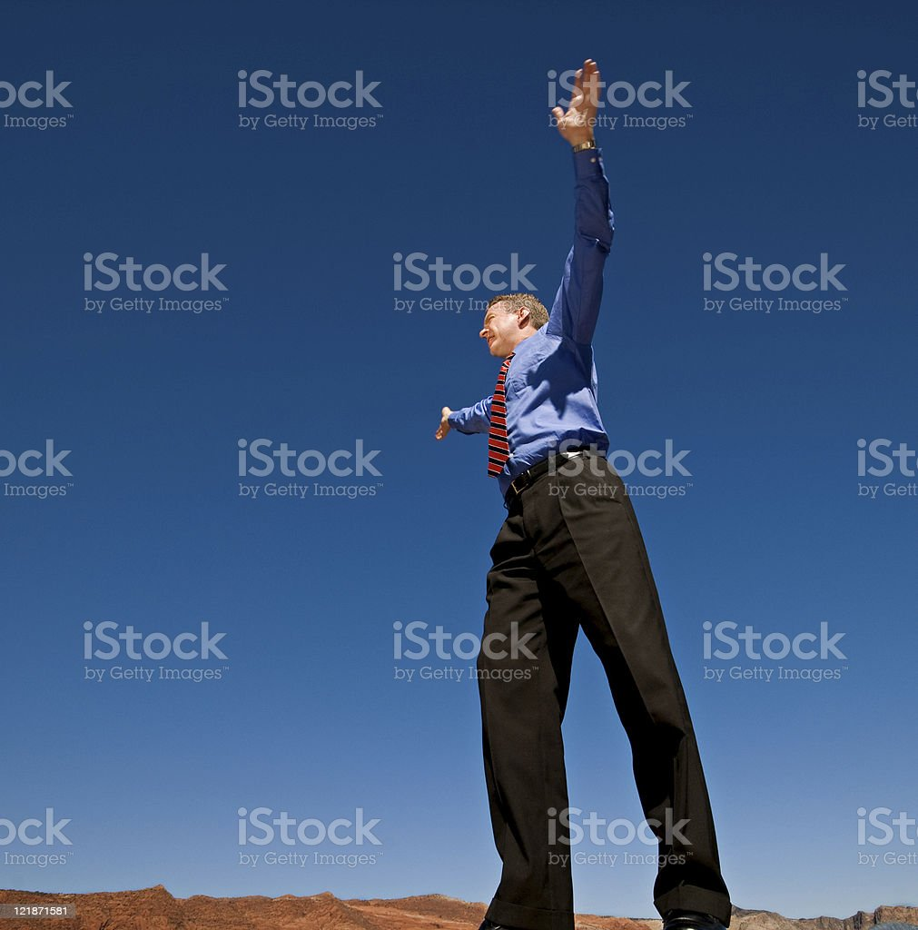 Over Here! royalty-free stock photo