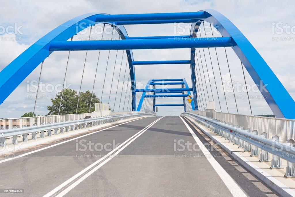 Over The Bridge stock photo