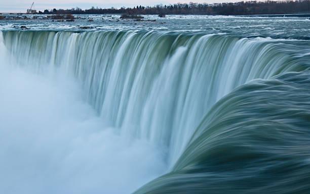 Over the Edge, Niagara Falls, Horizontal stock photo