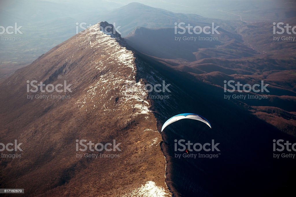 Over the hills... stock photo