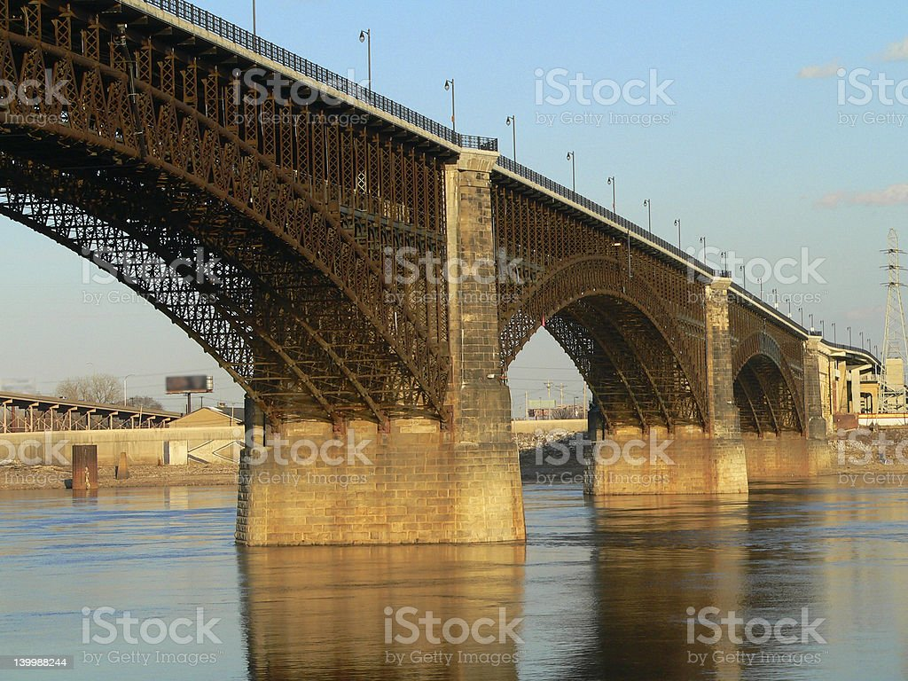 Over The River royalty-free stock photo