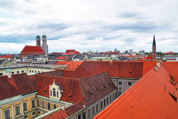 Über den Dächern von München – Foto