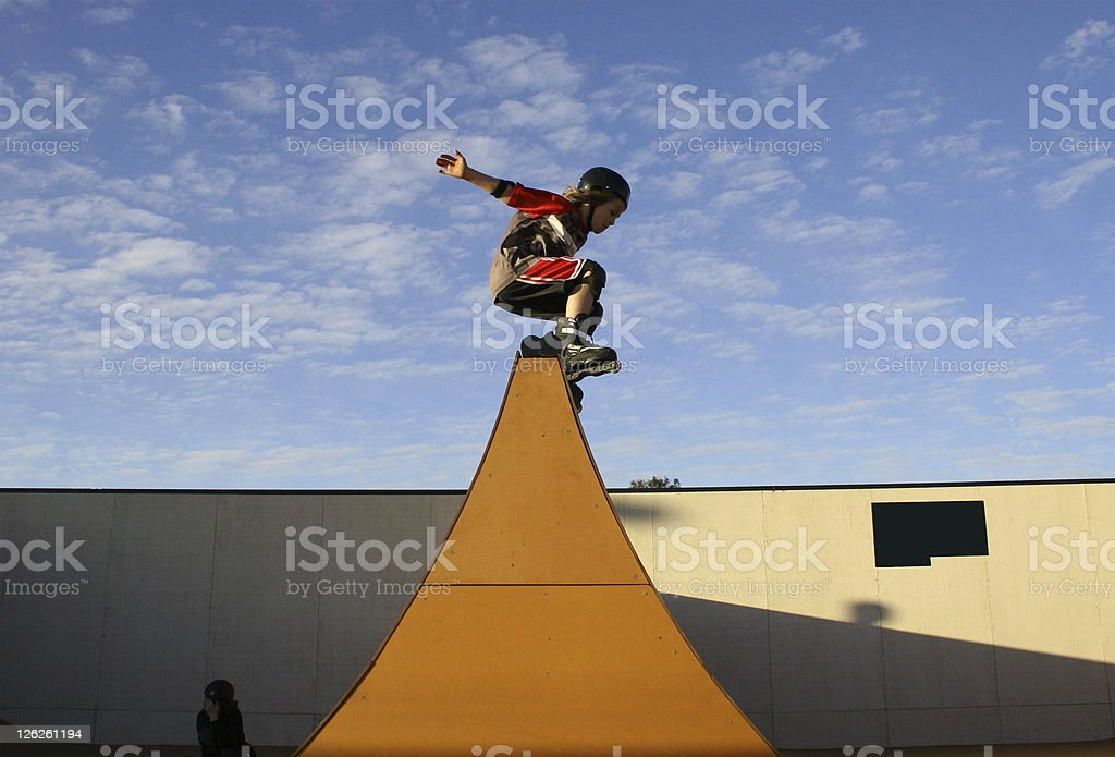 Over the top royalty-free stock photo