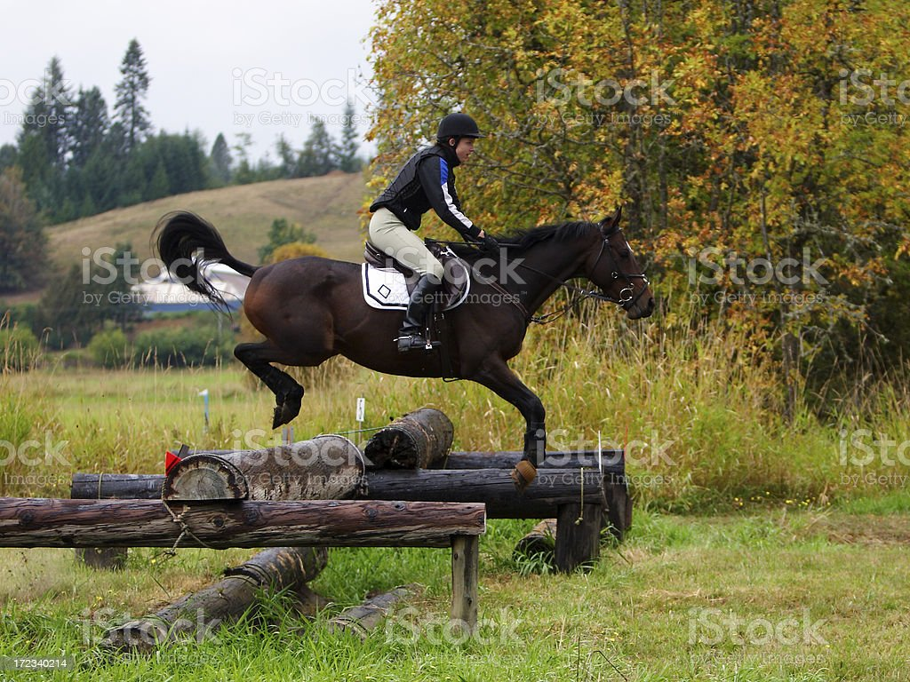 Over the Trackaner stock photo