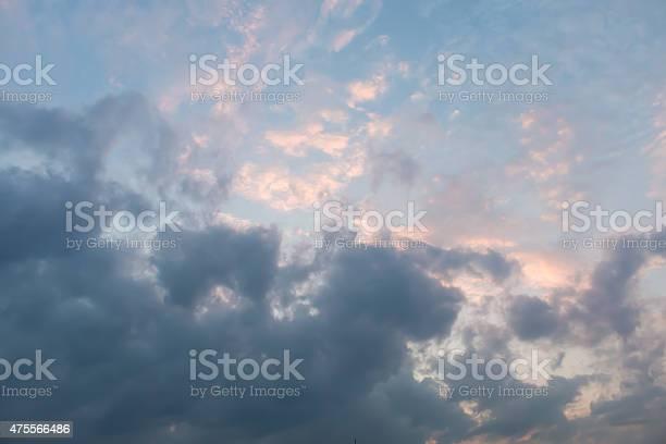 Photo of overcast skies