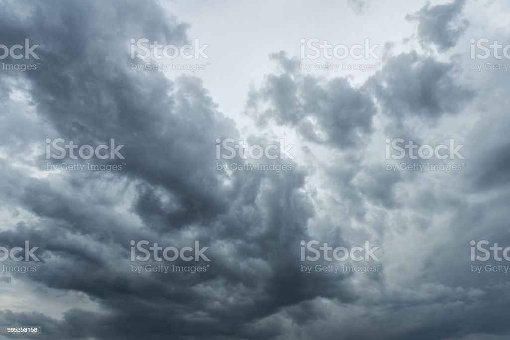 Overcast sky, nature abstract background zbiór zdjęć royalty-free