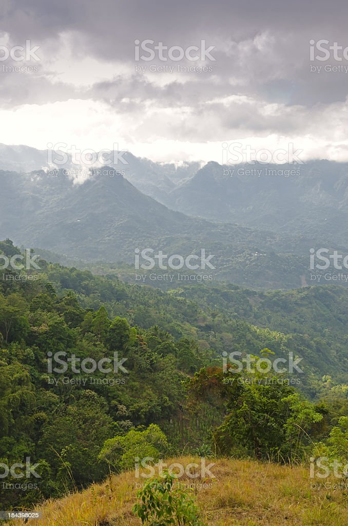 Overcast weather in Flores royalty-free stock photo