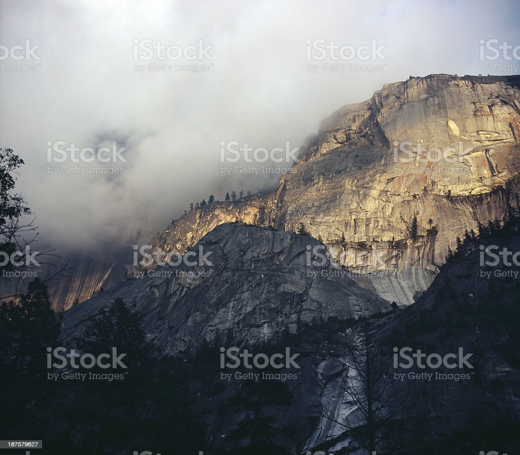 Overclouded stock photo