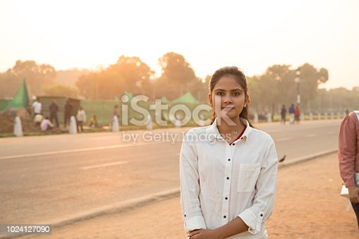 590241864istockphoto I overcome every obstacle with a smile on my face - Stock image 1024127090
