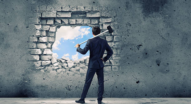 overcoming challenges - opportunity stock photos and pictures
