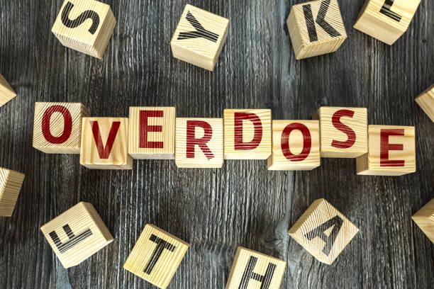 Overdose stock photo