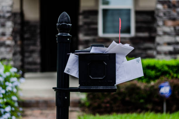 overflow mailbox - overflowing stock photos and pictures