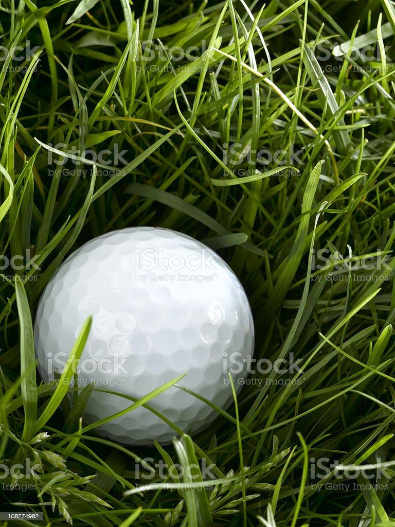 overhead golf ball royalty-free stock photo