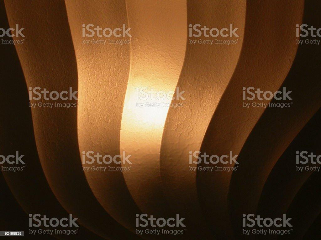 Overhead Light royalty-free stock photo