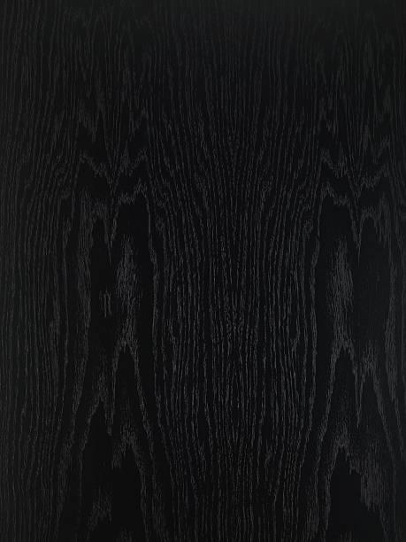 Blickwinkel auf Schwarz Holztisch – Foto