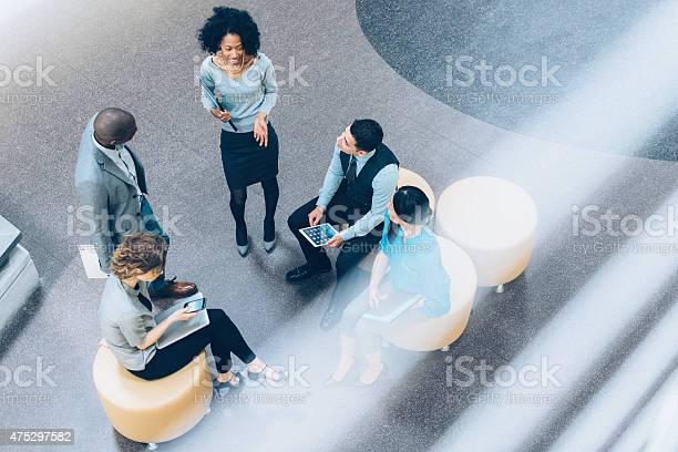 Overhead view of business people in a meeting picture id475297582?b=1&k=6&m=475297582&s=612x612&h=tgyfrslyh00dbjphnknryokf31krydac7deh5rtxhmu=