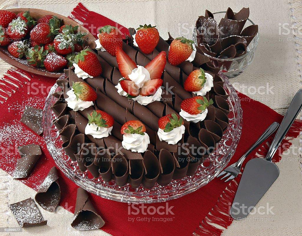 Gâteau au chocolat - Photo