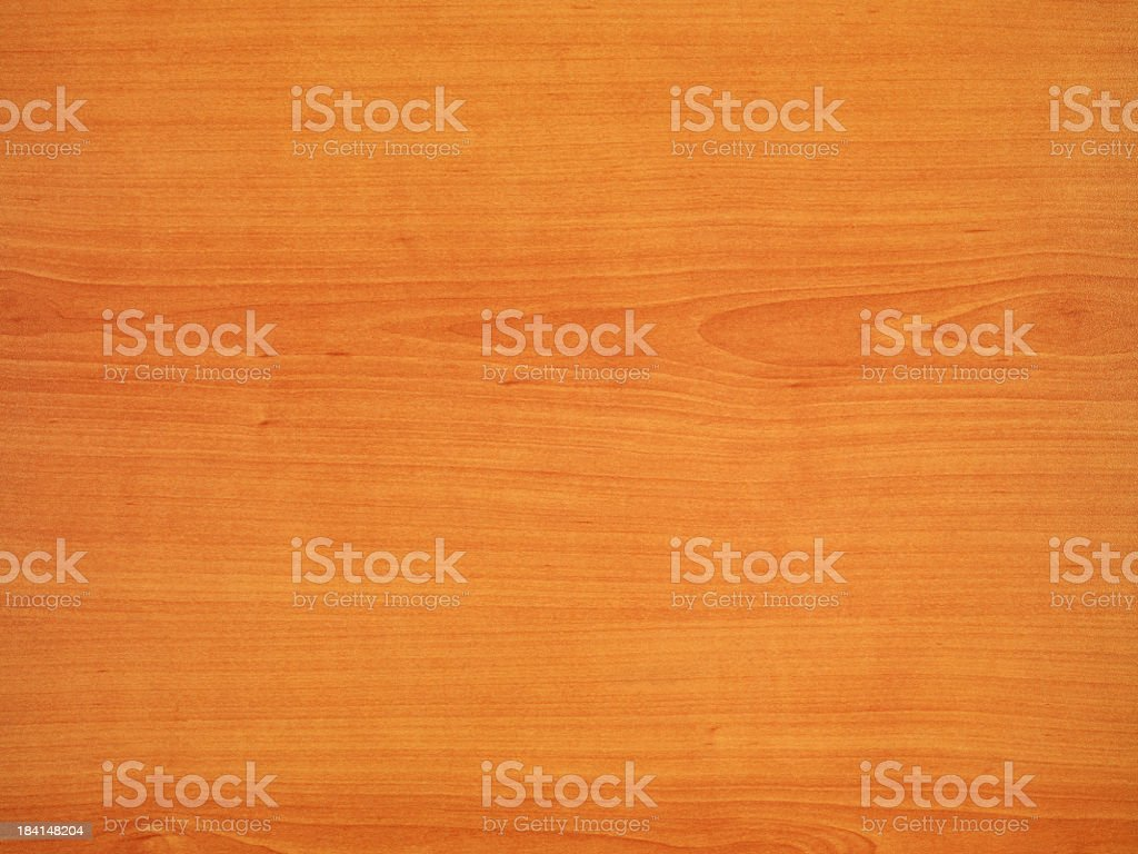 Overhead view of light brown office table stock photo