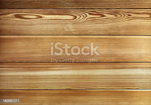 istock Overhead view of old dark brown wooden table 182051271