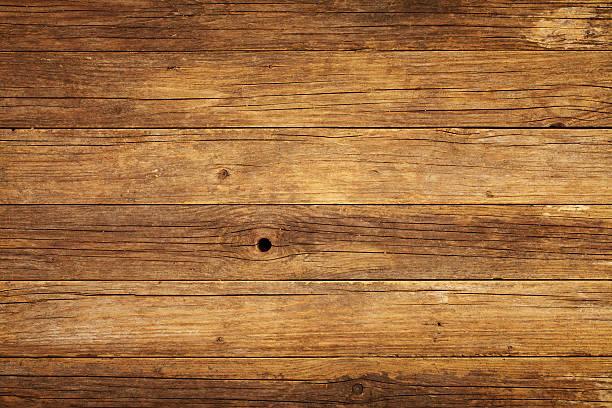 overhead blick auf alten holztisch - eichenholz stock-fotos und bilder