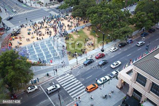 863454090istockphoto Overhead View of Plaza de Cesar Chavez Park 544557408