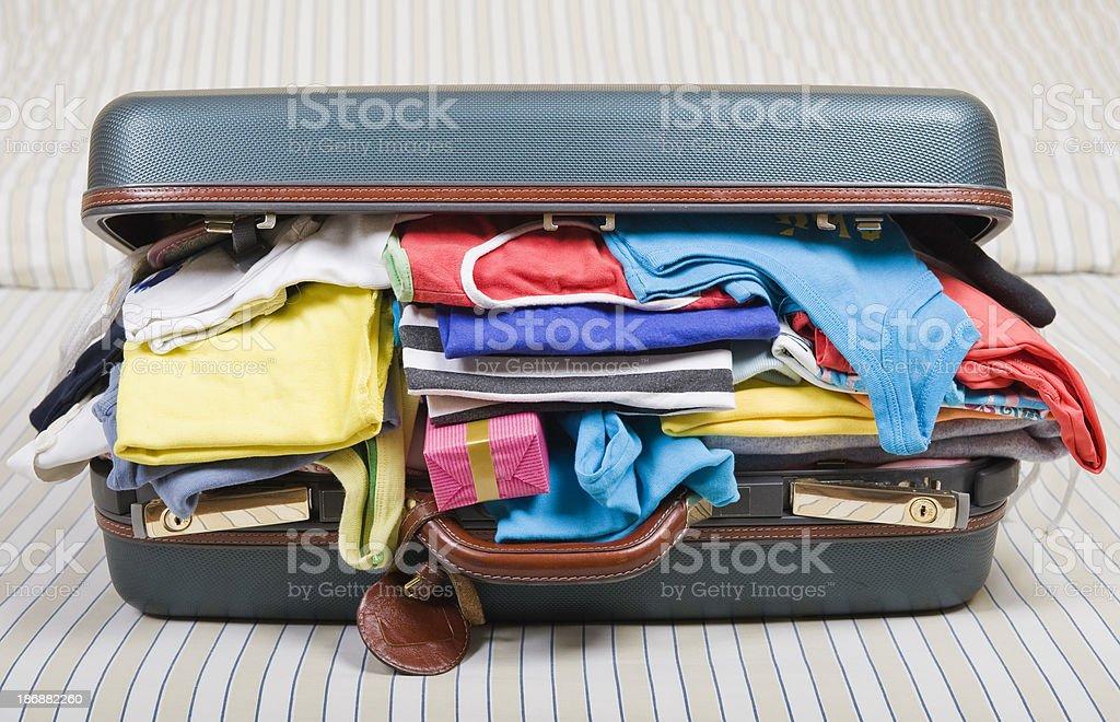 Überladene Gepäck – Foto