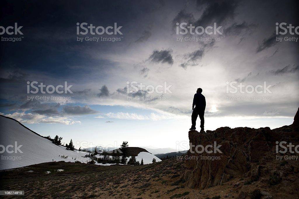 overlook stock photo