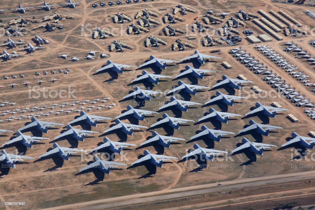 Arizona Air Force Base >> Overlook The Aircraft Boneyard Davismonthan Air Force Base