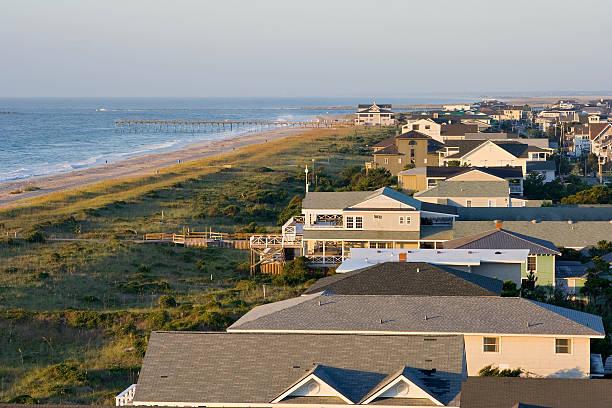Wrightville mit Blick auf den Strand – Foto
