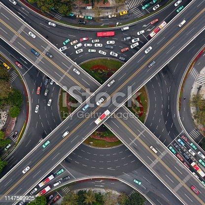 overpass in Guangzhou