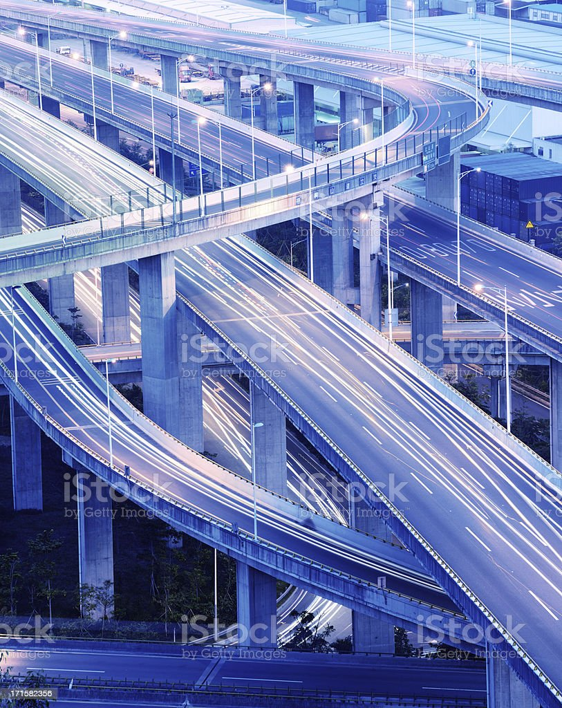 Overpass stock photo