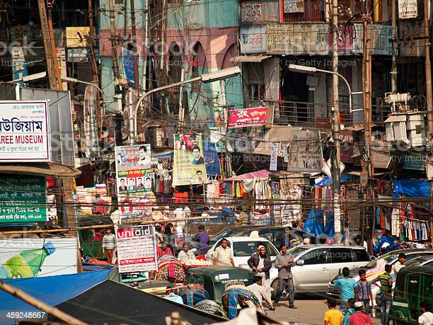 Overpopulation problem in Dhaka city Bangladesh capital