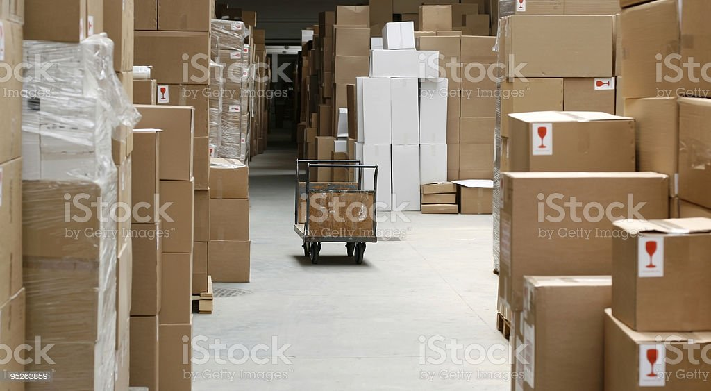 overproduction and warehouse stock photo