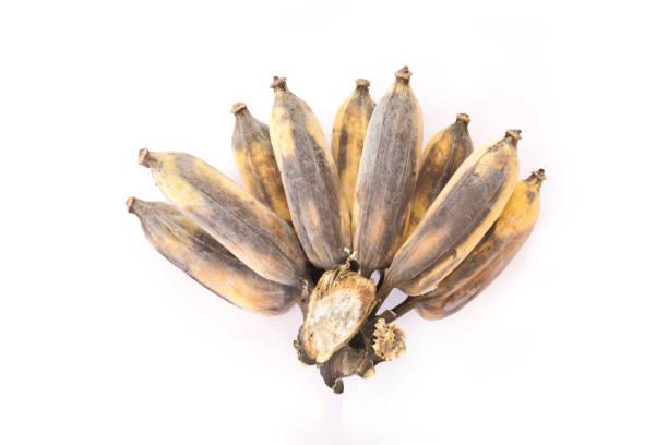 plátano sobremadurado - gangrena fotografías e imágenes de stock