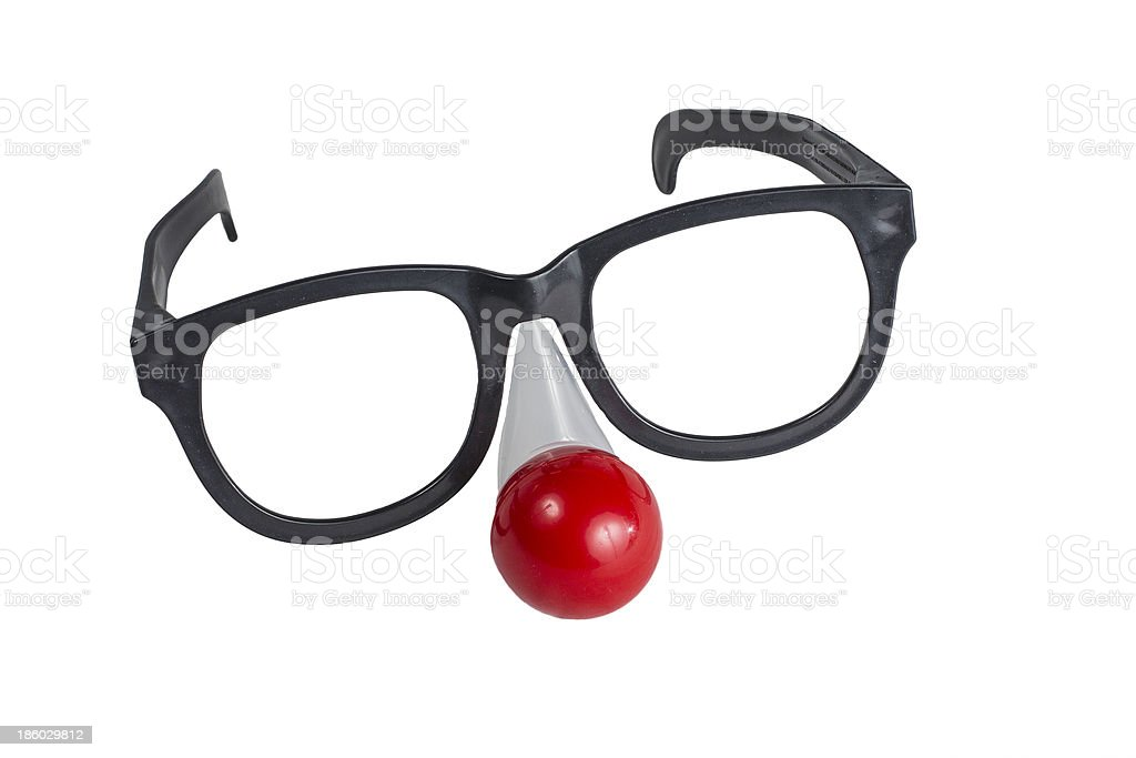 Oversized Funny Eye Glasses royalty-free stock photo